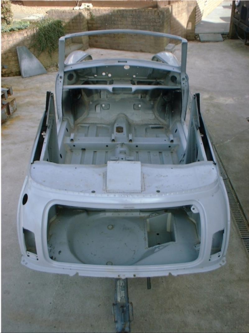 Rover Mini Cabriolet Shell